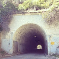 Photo taken at Back to the Future & Who Framed Roger Rabbit Tunnel by Benjamin F. on 2/9/2012