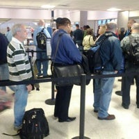 Photo taken at Terminal C Security Checkpoint by Randy on 2/20/2012