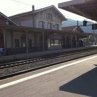 Photo taken at Gare d'Aigle by Nicolas J. on 4/17/2011