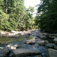 Photo taken at Chattahoochee River NRA - Sope Creek by Brennan H. on 8/6/2011