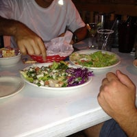 Photo taken at Polvos Mexican Restaurant by Aileen on 9/3/2012