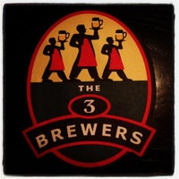 Photo taken at The 3 Brewers by Sinem on 6/13/2012