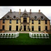Photo taken at Oheka Castle Hotel & Estate by Don J. on 5/6/2012
