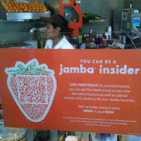 Photo taken at Jamba Juice 4th St & Santa Monica Blvd by Luan P. on 5/28/2012