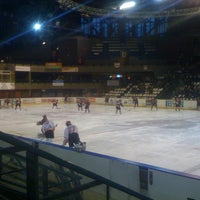 Photo taken at Patinoire Meriadeck by guillaume m. on 1/14/2012