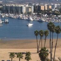 Photo taken at Marina Del Rey Marriott by Tony E. on 10/13/2011