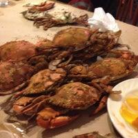 Photo taken at Lestardo's Crab House by J. Anthony M. on 6/1/2012