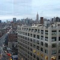 Photo taken at Courtyard by Marriott New York Manhattan/SoHo by Geoff J. on 12/17/2011