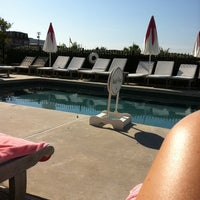 Photo taken at Congress Hall Hotel - Poolside by Abby D. on 7/1/2011
