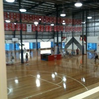 Photo taken at North Sydney Indoor Sports Centre by Tim P. on 2/14/2011