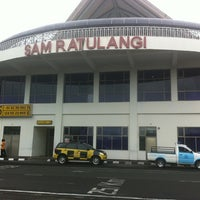 Photo taken at Sam Ratulangi International Airport (MDC) by Tulus on 2/29/2012
