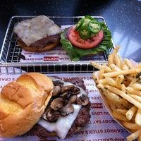 Photo taken at Smashburger by Tina C. on 8/27/2012