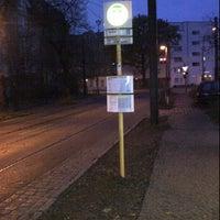 Photo taken at Linie M1 Am Kupfergraben - Schillerstraße / Rosenthal Nord by Tina on 11/19/2011
