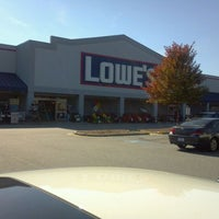 Photo taken at Lowe's Home Improvement by Andy C. on 10/8/2011