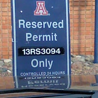 Photo taken at Norma's Reserved Parking Space by Norma on 9/8/2012