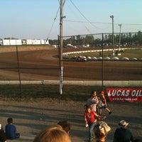 Photo taken at Merritville Speedway by Ryan L. on 8/25/2012