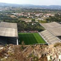 Photo taken at Estádio Municipal de Braga by Grégory D. on 9/28/2011