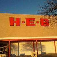 Photo taken at H-E-B by Sheldon W. on 1/27/2012