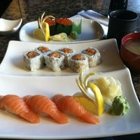 Photo taken at Fin's Sushi & Grill by Jason M. on 2/10/2012
