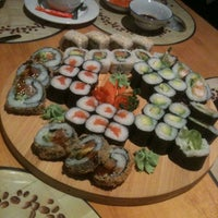 Photo taken at Sushi Tam Da by Petra S. on 4/6/2012