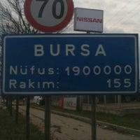Photo taken at Bursa by İzzet S. on 1/21/2011