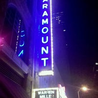 Photo prise au Paramount Theatre par William R. le11/19/2011