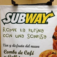 Photo taken at Subway by JesusSanch on 4/18/2012