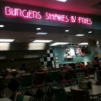 Photo taken at Hwy 55 Burgers, Shakes, & Fries by Elaine Q. on 11/15/2011