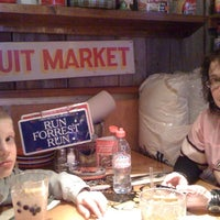 Photo taken at Bubba Gump Shrimp Co. by John L. on 2/21/2011