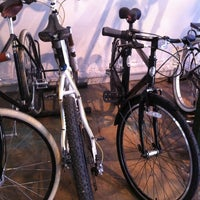 Photo taken at Oak Cliff Bicycle Company by Jenny D. on 3/25/2012