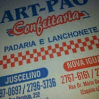 Photo taken at Art-Pão Confeitaria by Leandro O. on 12/23/2011