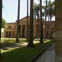 Photo taken at Palácio Itamaraty by Aurelio A. on 9/26/2011
