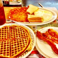 Photo taken at Waffle House by Andrew d. on 2/14/2012