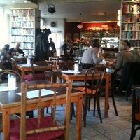 Photo taken at Goldmund Literaturcafe by Shlomo Z. on 12/17/2011