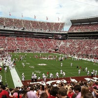 Photo taken at Bryant-Denny Stadium by Austin D. on 9/8/2012