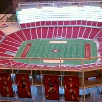4/15/2012 tarihinde Ken W.ziyaretçi tarafından Levi's Stadium'de çekilen fotoğraf