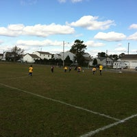 Photo taken at Beachwood Soccer Club Complex by Mary W. on 10/22/2011