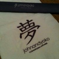 Photo taken at John and Yoko Cosmopolitan Japanese by Rye O. on 4/18/2012