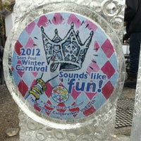 Photo taken at St. Paul Winter Carnival by JVC on 1/28/2012
