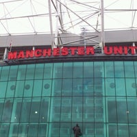 Photo taken at Manchester United Museum & Tour Centre by Sally W. on 8/17/2012