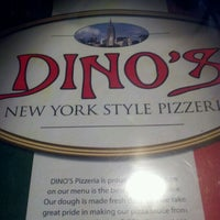 Photo taken at Dino's Pizzeria by Johnny M. on 7/5/2012