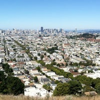 Photo taken at Bernal Heights Park by Meeshul H. on 8/2/2011