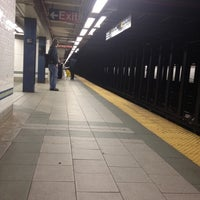 Photo taken at MTA Subway - Prince St (R/W) by Julio S. on 1/18/2012