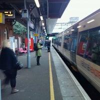 Photo taken at Upminster Railway Station (UPM) by Gavin D. on 2/15/2011