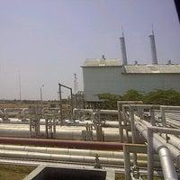 Photo taken at Pertamina EP Terminal Balongan by Apriyana I. on 10/11/2011