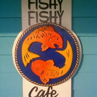 Photo taken at Fishy Fishy Cafe by Bradley N. on 7/12/2011