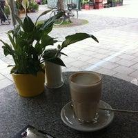Photo taken at Espresso am Viktualienmarkt by EGON S. on 6/6/2011