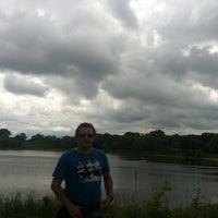 Photo taken at George Wyth Brinker Lake by Gökhan K. on 6/16/2012