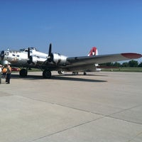 Photo taken at Waukesha County Airport (UES) by Jeff R. on 8/25/2012