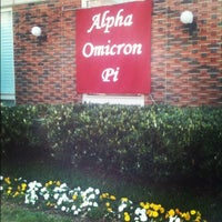Photo taken at Alpha Omicron Pi-Nu Omicron Chapter at Vanderbilt by Martha on 3/22/2012